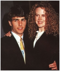 Nicole and Tom in 1991